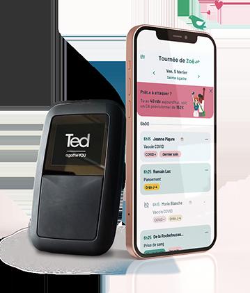 Fin du tla - Lecteur de carte vitale Ted - lecteur ted -Logiciel infirmier libéral - Application mobile idel - Agathe You