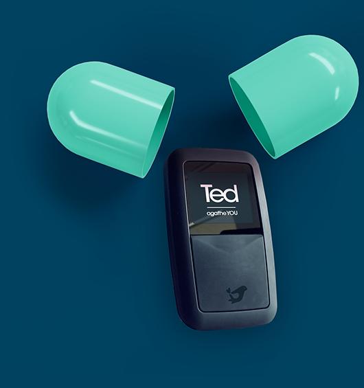 Lecteur de carte vitale Ted : Fin du TLA - Logiciel infirmier libéral - Agathe You - Agate You
